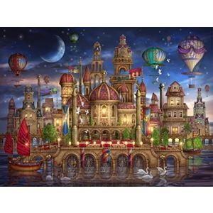 Schmidt Château Dans L'eau - Puzzle 2000 pièces