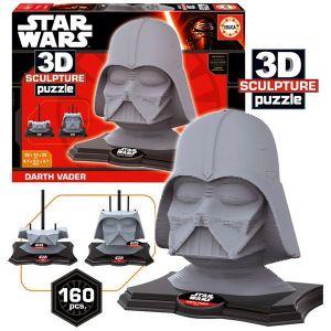 Educa Puzzle 3D Star Wars Darth Vader (160 pièces)
