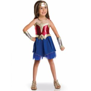 Warner Déguisement classique Wonder Woman fille Dawn of Justice