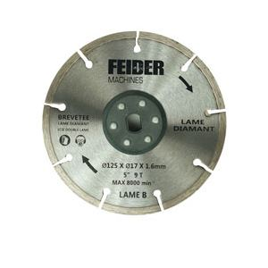 Feider FDL125 - Lame diamant 125 mm