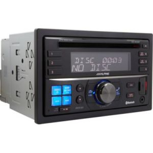 Alpine CDE-W235BT - Autoradio 2DIN CD/MP3 avec contrôle iPod/iPhone et Port USB
