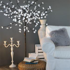 arbre lumineux led blanc comparer 87 offres. Black Bedroom Furniture Sets. Home Design Ideas