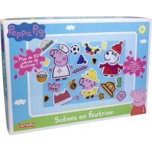 Lansay Scènes en feutrine Peppa Pig