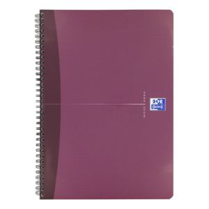 Oxford Cahier spirale Office grands carreaux 180 pages 21 x 29,7 cm
