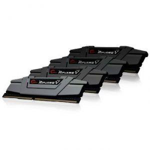 G.Skill F4-3466C16Q-16GVK - Barrette mémoire Ripjaws V Black DDR4 4 x 4 Go 3466 MHz CAS16