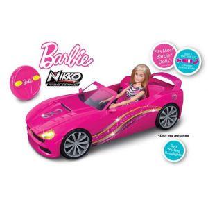 Nikko Voiture cabriolet radiocommandée Barbie
