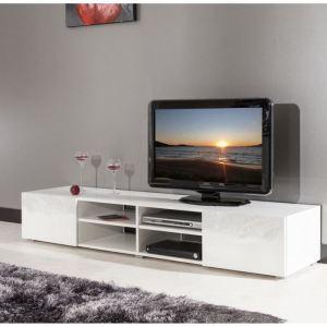 Banc TV Mango 4 niches et 2 tiroirs