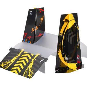 Silverlit Circuit de voiture 3D Twister Tour + 2 Rampes  pour voiture miniature