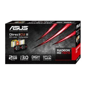 Image de Asus HD7870-DC2-2GD5-V2 - Carte graphique Radeon HD 7870 V2 2 Go GDDR5 PCI-E 3.0
