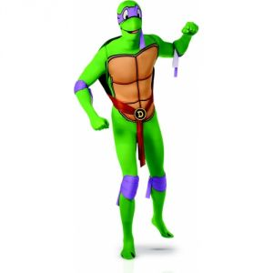 Déguisement Donatello Tortues Ninja seconde peau adulte