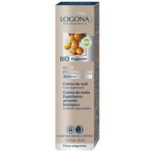 Logona Crème de nuit soin régénérant peaux exigeantes