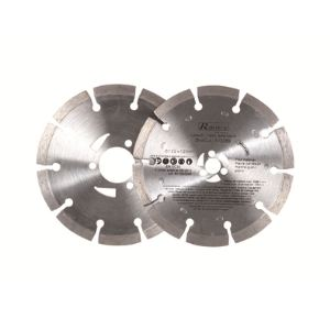 Ribitech PRSC2/DIA - Lot de 2 disques diamantés pour scie Duocut