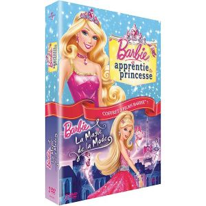 Coffret Barbie apprentie princesse + La magie de la mode