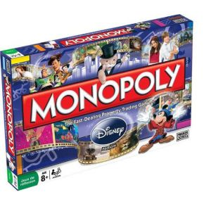 Winning Moves Monopoly Disney classic