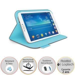 Logitech Folio Protective Case pour Galaxy Tab 3 8.0