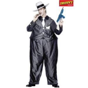Smiffy's Déguisement de gangster imposant homme (taille unique)