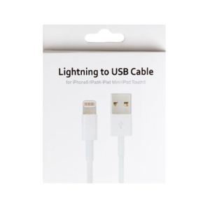 Apple MD818ZM/A - Câble Lightning vers USB pour iPhone 5, iPod touch (5e gen.), iPod nano (7e gen.), iPad (4e gen.) et iPad mini