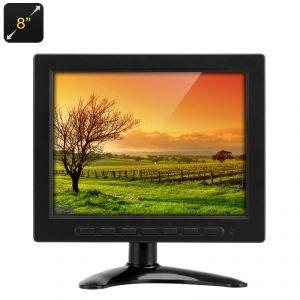 "High-Tech Place Moniteur TFT-LCD 8"""