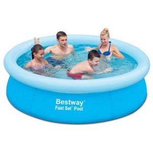 Bestway 57252 - Piscine gonflable Fast Set Pool ronde Ø198 x 51 cm