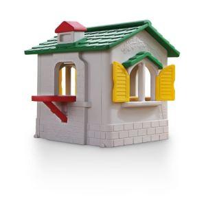 Chicco Villa avec cheminée, 4 fenêtres, lave-linge et table pour dessiner