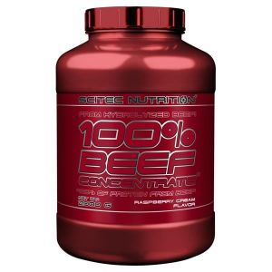 Scitec nutrition 100% Beef Concentrate - 2000 g Raspberry Cream