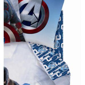 Cti Drap housse Captain America Avengers (90 x 190 cm)