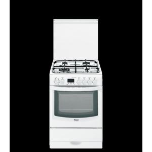 Hotpoint CX65SFA F/HAS - Cuisinière tout gaz 4 foyers