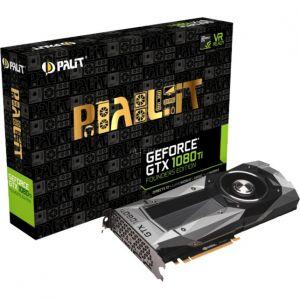 Palit NEB108T019LCF - Carte graphique GeForce GTX 1080 Ti Founders Edition 11Go GDDR5X
