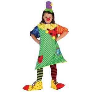 Atosa Déguisement fille clown (10-12 ans)