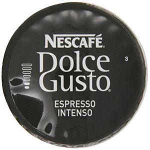 Nescafe 3 paquets de 16 capsules Dolce Gusto Espresso Intenso