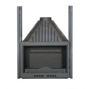 Ferlux 825 - Insert foyer de cheminée ouverture latérale ou guillotine 17,5 kw