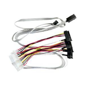 Adaptec 2280100-R - Câble interne SCSI (SAS) avec bandes latérales 4 voies
