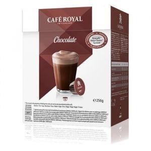 Café Royal 16 capsules Chocolat compatibles Dolce Gusto