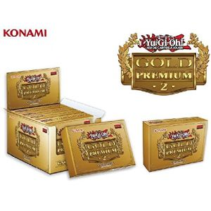 Konami Cartes à collectionner Yu Gi Oh Jcc Booster Premium Gold 2
