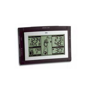 TFA Dostmann Weather Pam WS (35.1064.01.51.IT) - Station météo pour température intérieure et extérieure et humidité