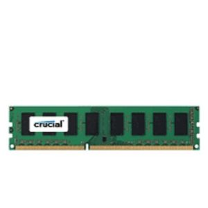 Crucial CT102464BD160B - Barrette mémoire 8 Go DDR3 1600 MT/S (PC3-12800)