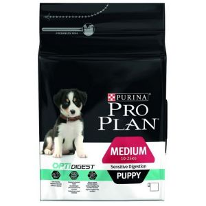 Purina Optidigest Medium Puppy (Agneau) - Sac de 12 kg - Pro Plan