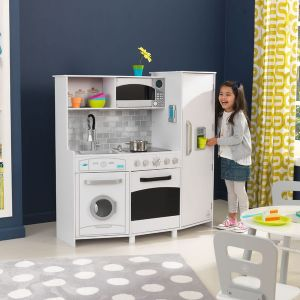 cuisine kidkraft jeu d 39 imitation cuisine en bois et dinette enfant. Black Bedroom Furniture Sets. Home Design Ideas