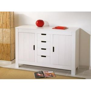 Links Commode Bertram Massif en pin