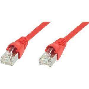 Telegärtner L00005D0037 - Câble réseau CAT 5e F/UTP 10 m rouge