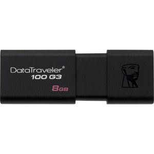 Kingston DT100G3/8GB - Clé USB 3.0 DataTraveler 100 G3 8 Go