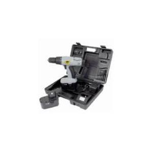 Cogex Perceuse visseuse sans fil 18V + 2 batteries + 14 Accessoires