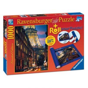 Ravensburger Paris + Tapis de puzzle - Puzzle 1000 pièces