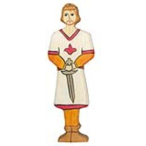 Holztiger Figurine Prince en bois
