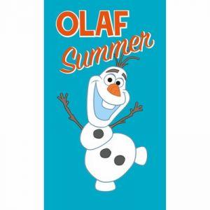 Drap de plage Olaf Summer La Reine des Neiges (70 x 120 cm)