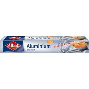 Albal 3 rouleaux d'aluminium ménager renforcé (10 m)