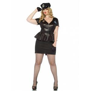 Déguisement policière femme grande taille