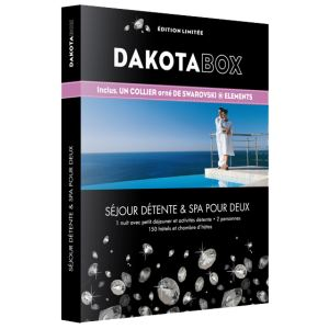Dakota Box Séjour détente, spa et bien-être Swarovski - Coffret cadeau pour 2 personnes