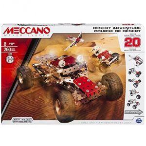 Meccano 6026306 - Course du désert 20 modèles
