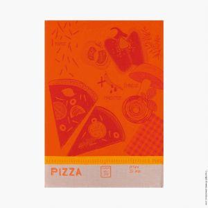 Le Jacquard Français Pizza tomate - Torchon 100% coton